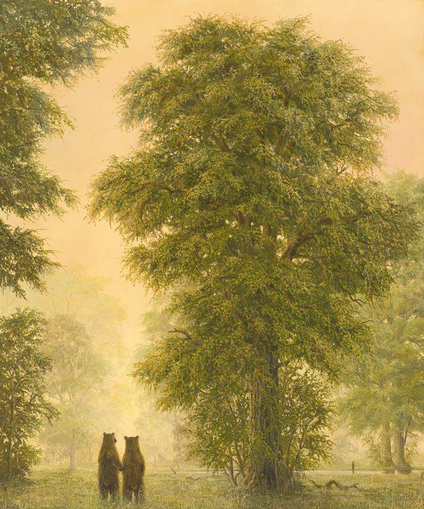 Arcadia is an artwork of Robert Bissel