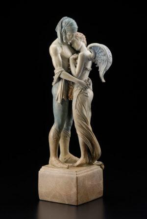 Bronze Custom Patina Sculpture of Michael Parkes Last Peony (Beauty in Bronze)