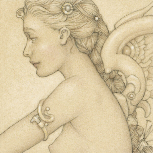 Paper Giclee of Michael Parkes Daydreaming