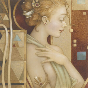 Paper Giclee of Michael Parkes Reflections (fine art edition)