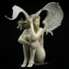 Bronze Custom Patina Sculpture of Michael Parkes Summer Storm