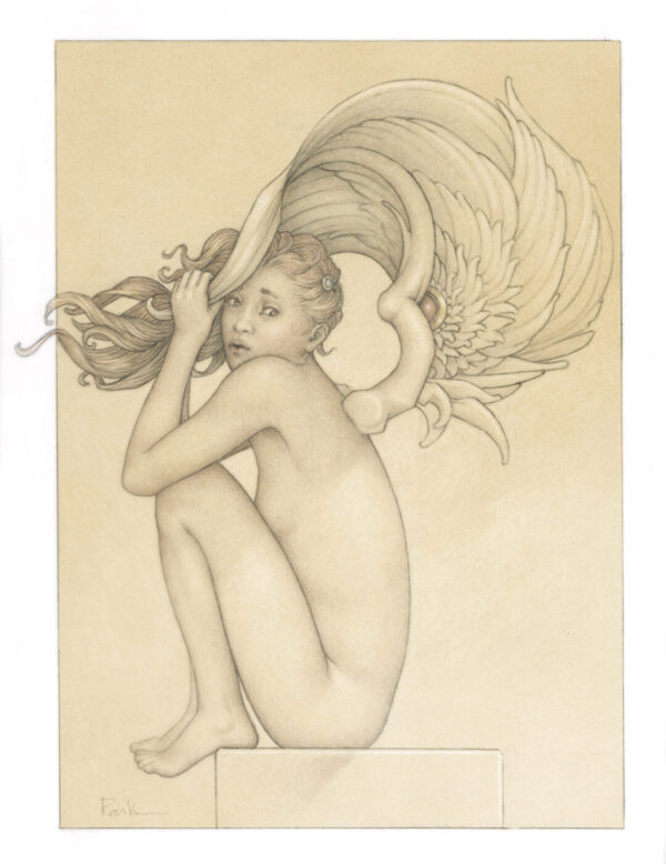 Paper Giclee of Michael Parkes Summer Storm